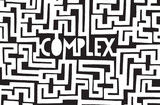 Complex word inside a chaotic maze
