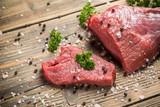 Crude beef