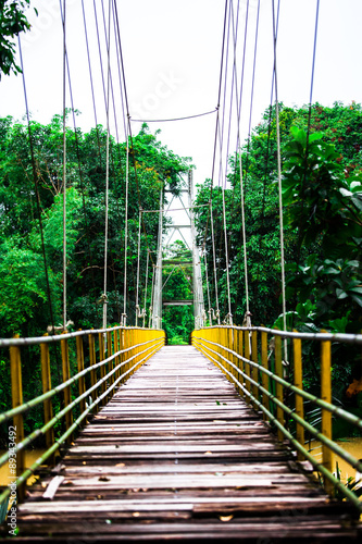 rope bridge - 89343492