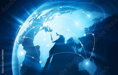 Wall mural Connexion Internet