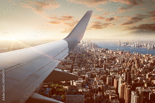 mata magnetyczna Flight over New York City