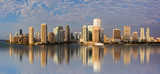 Panoramic view of downtown Miami - Fine Art prints