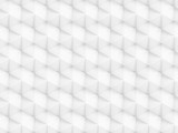 Abstract white polygonal 3D seamless pattern - facet geometric structure background