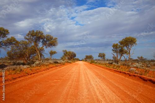 obraz PCV Outback road