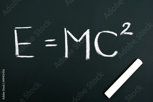 Poster E=mc2,Albert Einstein,chalkboard,chalk,blackboard,colored chalk
