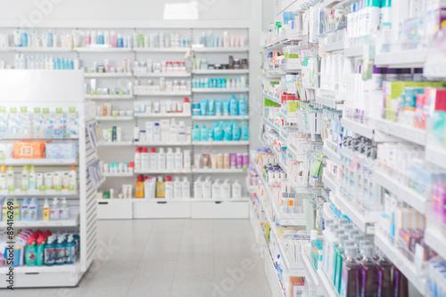 Papiers peints Pharmacie Pharmacy Interior