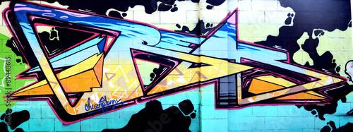 Graffiti 2328 - Disegno astratto