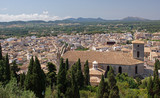 Fototapety Panoramic view of Arta - Majorca