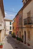 Fototapety Narrow streets of Alcudia - Majorca