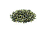 Heap of loose green tea Sencha poster