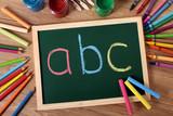 Fototapety ABC basic reading and writing