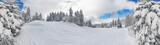Fototapety Skipiste Feldberg im Schwarzwald volle 360°