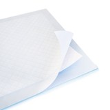 3d disposable bed sheet with inside layers