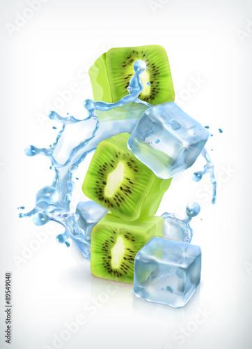kiwi-z-kostkami-lodu-i-plusk-wody-ikona-wektor