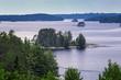 Lake Kabetogama in Voyageurs National Park, Minnesota, USA