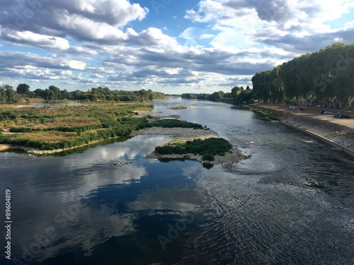 La Loira a Beaugency - Francia Poster