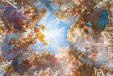 Fototapety Ceiling painting of Palace Versailles near Paris, France