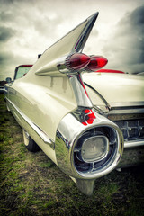Old american car in vintage style © lukaszimilena