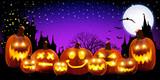 Fototapety ハロウィン かぼちゃ 背景
