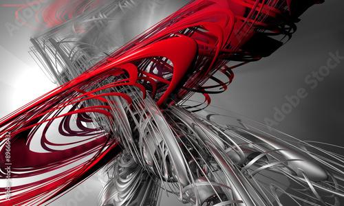 Obraz Abstract futuristic background