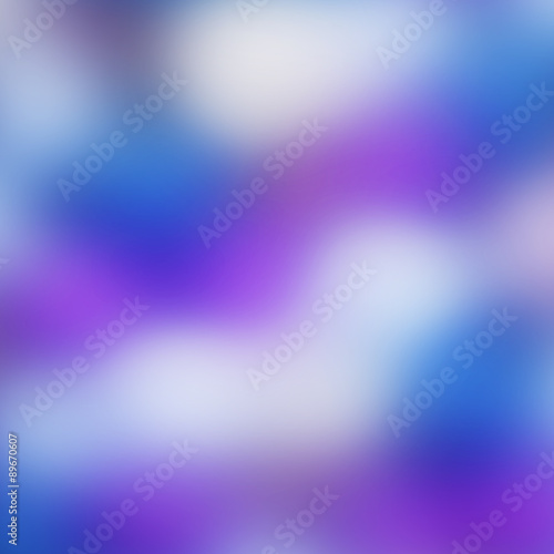 Foto op Canvas Violet Abstract background with purple colors and bokeh lights.