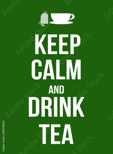 Billede Keep calm and drink tea