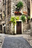 Fototapety glimpse of the old village of sermoneta