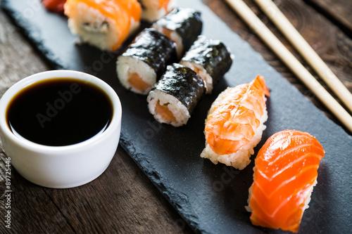 Poster sushi