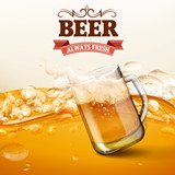 BEER  HIGH QUALITY BANNER