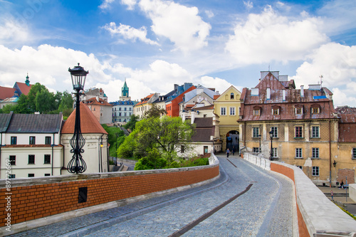 Fototapety, obrazy : Old town in City of Lublin, Poland