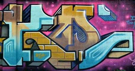 Graffiti 3561 - cavallo astratto, fantasia