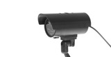 Covert Surveillance Camera. Isolated poster