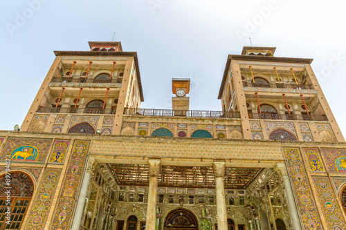 Poster Egypte Golestan Palace Towers Edifice of the Sun