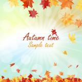 Fototapety Autumn  Frame