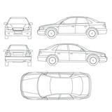 Car line crash insurance protocol