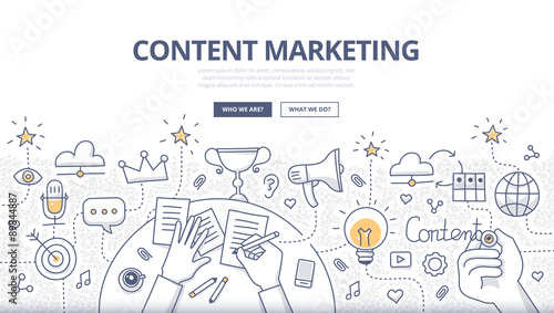 using content to market to propective customers