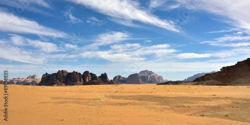 Poster Wadi Rum desert