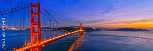 Poster Golden Gate Bridge, San Francisco California