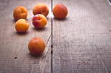 Mellow apricots poster