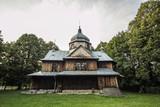 Fototapeta Nature - Old Orthodox Church in Bieszczadys mountains. © KrisGrabiec