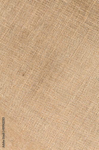 Fotobehang Stof Sack textured brown canvas fabric as background
