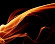 Obrazy na płótnie, fototapety, zdjęcia, fotoobrazy drukowane : Abstract flame