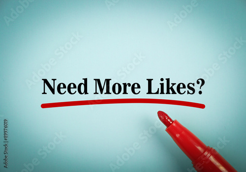Need more likes Poster