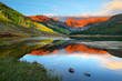 Piney Lake near Vail Colorado at sunset