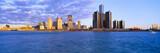 Fototapety Renaissance Center, Detroit, Sunrise, Michigan