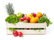 Crate with fruits and vegetable - 90016657