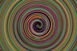 abstract colorful spiral