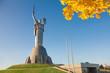 ������, ������: Mother Motherland monument in Kiev Ukraine