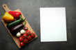 art food recipes with vegetables collection