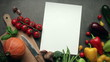 art food recipes with vegetables collection stop motion animation